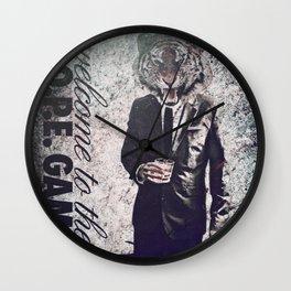 Trill Tiger Wall Clock
