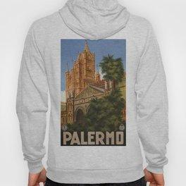 vintage Palermo Sicily Italian travel ad Hoody