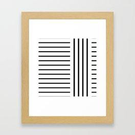 Jail Bird Framed Art Print