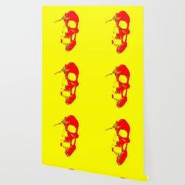 Skull - Red Wallpaper
