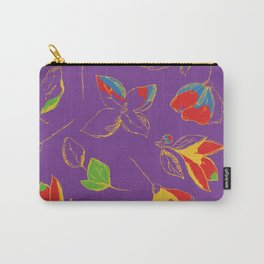FLOWERS IN LINE 4 Carry-All Pouch