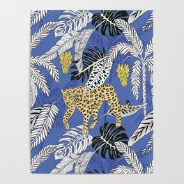 jungle marker pattern Poster