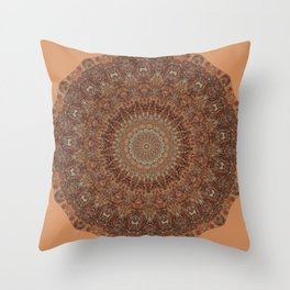 Your 60s Bedspread Throw Pillow