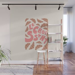 Le Croissant French Wall Mural