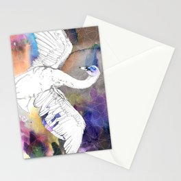 Virgo Swan Stationery Cards