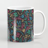 wallet Mugs featuring Tribe called pattern by yeah yeah patterns