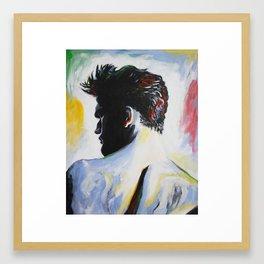 A Single Man Framed Art Print