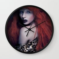 be brave Wall Clocks featuring Brave by Imustbedead