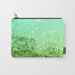 Tropical Beach Lady Glitter #4 #shiny #decor #art #society6 Carry-All Pouch