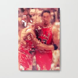 """FLU GAME"" Metal Print"