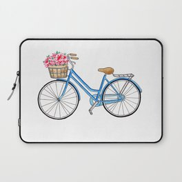 Bicycle art Bicycle print Bicycle wall art Bicycle poster Vintage bicycle art Laptop Sleeve