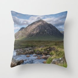 King of the Mountains Throw Pillow