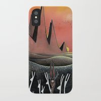 hare iPhone & iPod Cases featuring Hare by Kristin Rian