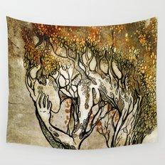 Crying Dryad Wall Tapestry