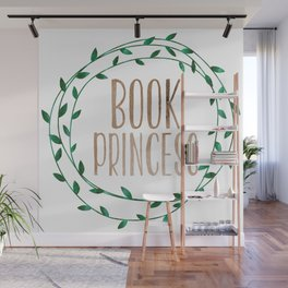 Book Princess Wall Mural