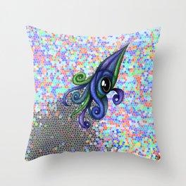 Squidatile Throw Pillow