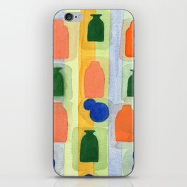 One Vase Toppled Over iPhone Skin