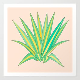 American Agave Art Print