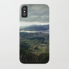 Tasmania's rural & mountainscape Scenery iPhone X Slim Case