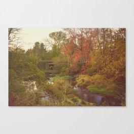 Wadsworth Falls State Park Canvas Print