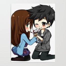 Boyfriends Art anime Poster