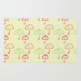 Happy Umbrella Rug
