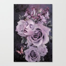 THE FRAGRANCE OF THE ROSE Canvas Print