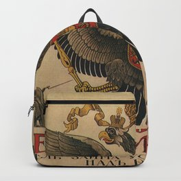 Vintage poster - Russia WWI Backpack