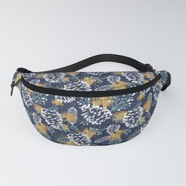 Festive Forest - Navy Fanny Pack
