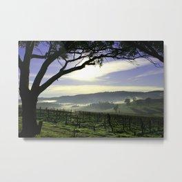 Barossa Sunrise Landscape Metal Print