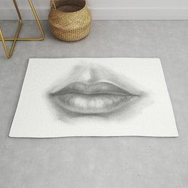 Lips Drawing | Sexy Lady Rug