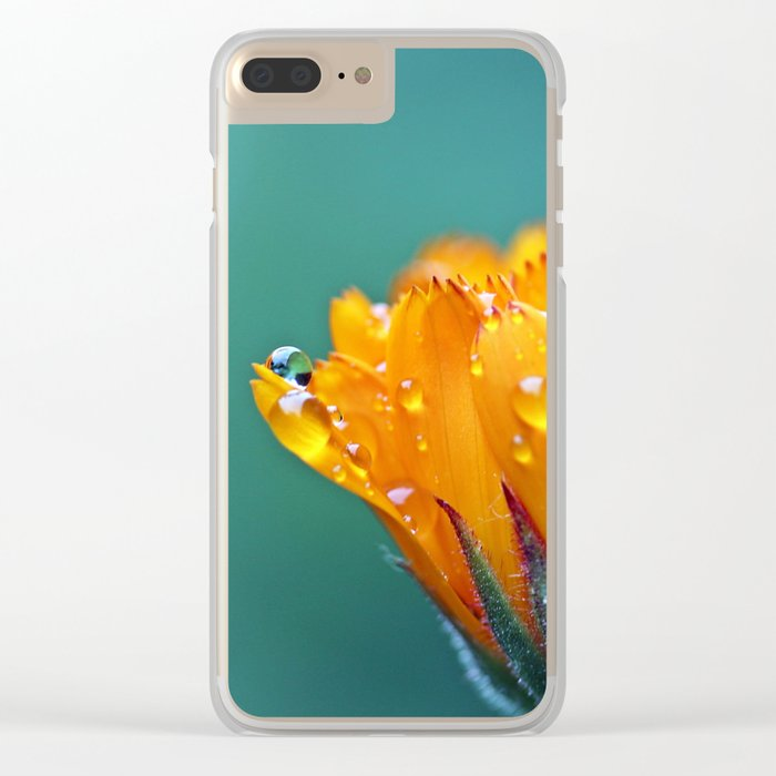 Marigold Clear iPhone Case