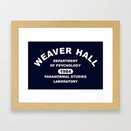 Weaver Hall Framed Art Print