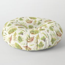 Mosses - Neutral Floor Pillow