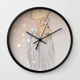 Iridescent  Wall Clock