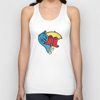 himym Tank Tops featuring Hey Beautiful by Reg Lapid