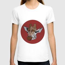 Wild Rectangular Giraffe T-shirt