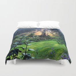 Magic Morning Sunlight Duvet Cover
