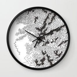 Doodle 5 Wall Clock