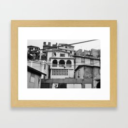 df Framed Art Print