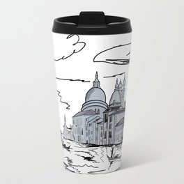 Venice . city on the water . Art Travel Mug
