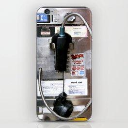 Pay Phone VIII iPhone Skin