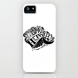 Warm hearted - Decals iPhone Case