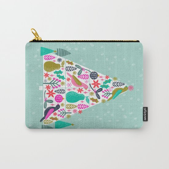 Christmas Tree by Andrea Lauren  Carry-All Pouch