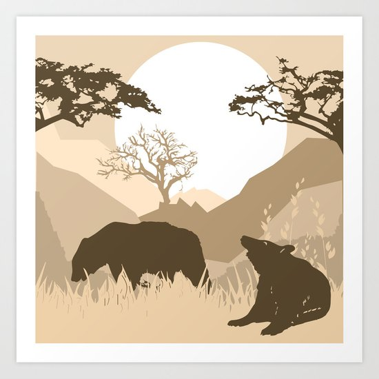 My Nature Collection No. 63 Art Print
