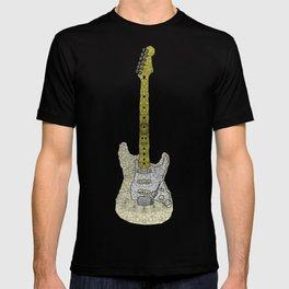 White Strat T-shirt