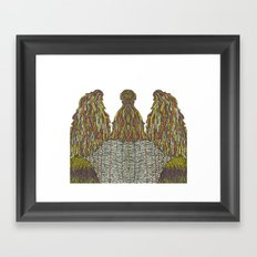 Humps! Framed Art Print