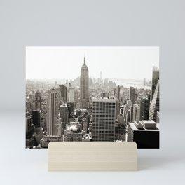 Static Empire Mini Art Print
