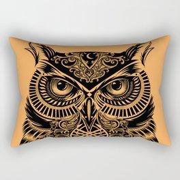 Warrior Owl 2 Rectangular Pillow