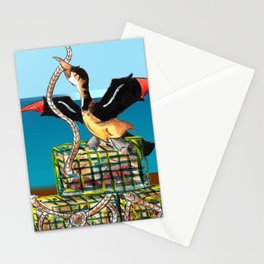 Lobster Haul (At the Docks) Stationery Cards